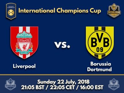 Liverpool coach Klopp faces former love Borussia Dortmund at the International Champions Cup