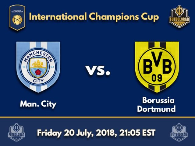 Manchester City and Borussia Dortmund to battle at Soldier Field
