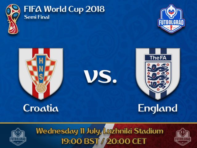 Croatia return to 'where they belong', while England play their first World Cup semi-final for 28 years