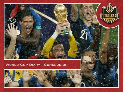 World Cup Diary – Final Conclusion from Russia