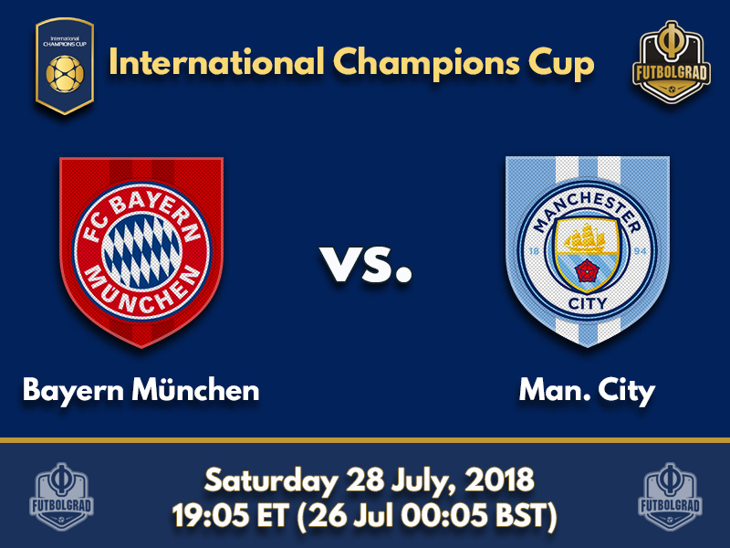 Bayern take Manchester City in their final International Champions Cup appearance