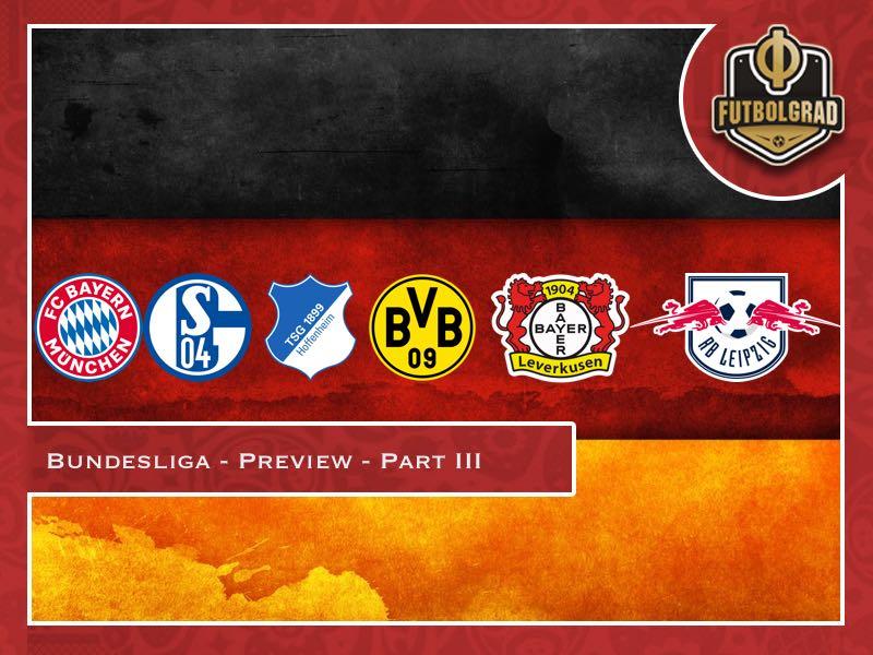 Bundesliga – 2018/19 Season Preview – Part III