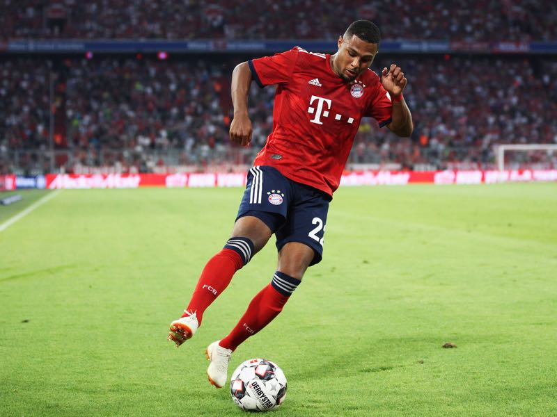 Serge Gnabry is ready to get started (Photo by Adam Pretty/Bongarts/Getty Images)