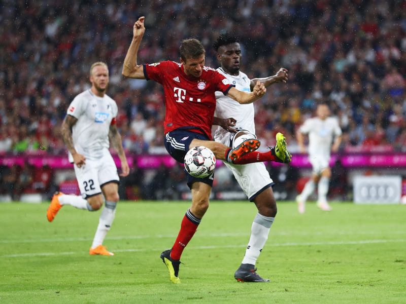 Bayern v Hoffenheim - Thomas Müller was the man of the match (Photo by Lars Baron/Bongarts/Getty Images)