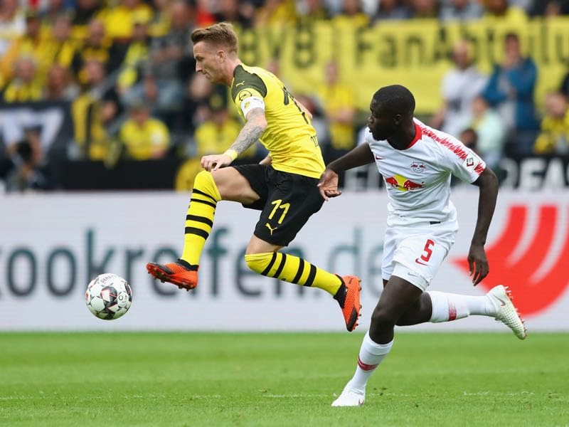 Dortmund v Leipzig - Marco Reus was the man of the match (Photo by Martin Rose/Bongarts/Getty Images)