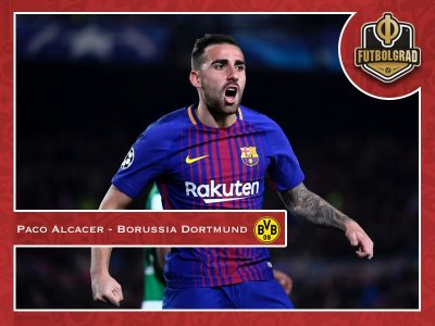 Paco Alcacer – Can he fill the attacking void for Dortmund?