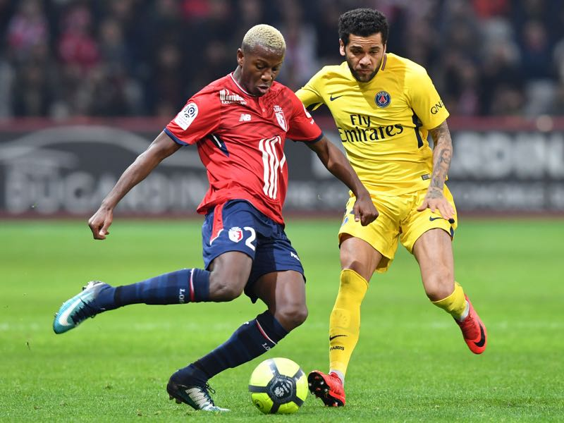 Hamza Mendyl (l.) can play various positions (DENIS CHARLET/AFP/Getty Images)