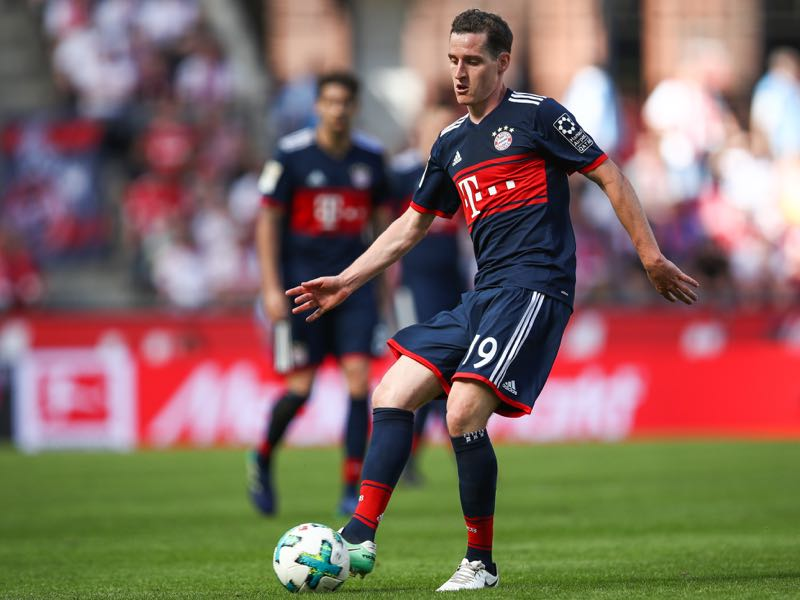 Sebastian Rudy was more of a passing machine at Bayern then he was at Hoffenheim (Photo by Maja Hitij/Bongarts/Getty Images)