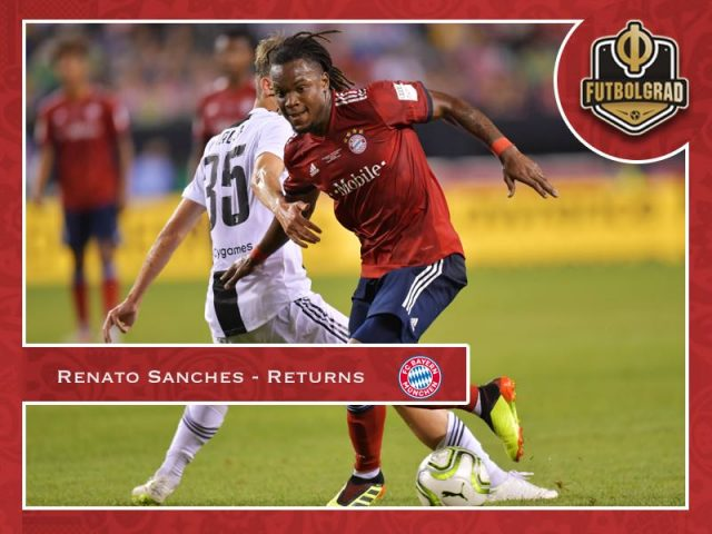 Golden Opportunity for Renato Sanches at Bayern