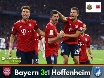 Bayern start their title defence with a win against Hoffenheim
