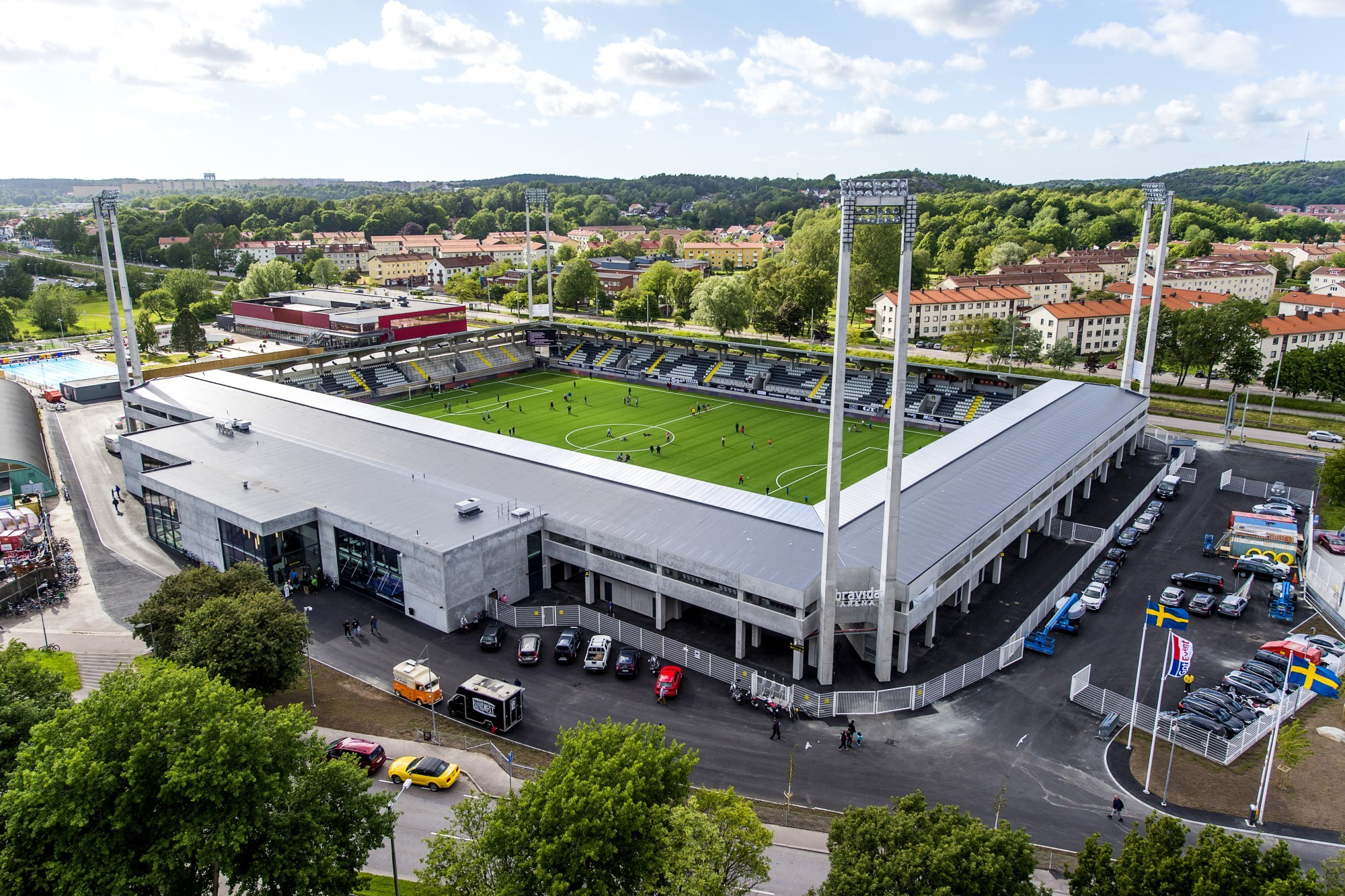 Häcken vs Leipzig will take place at the Bravida Arena