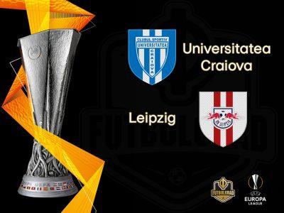 Leipzig travel to Romania to finish the job against Universitatea Craiova
