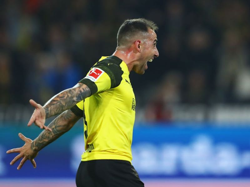 Borussia Dortmund v Eintracht Frankurt - Paco Alcacer was the difference maker for Dortmund (Photo by Martin Rose/Bongarts/Getty Images)