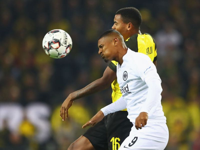 Borussia Dortmund v Eintracht Frankfurt - Sebastian Haller was a handful for BVB's defence (Photo by Martin Rose/Bongarts/Getty Images)