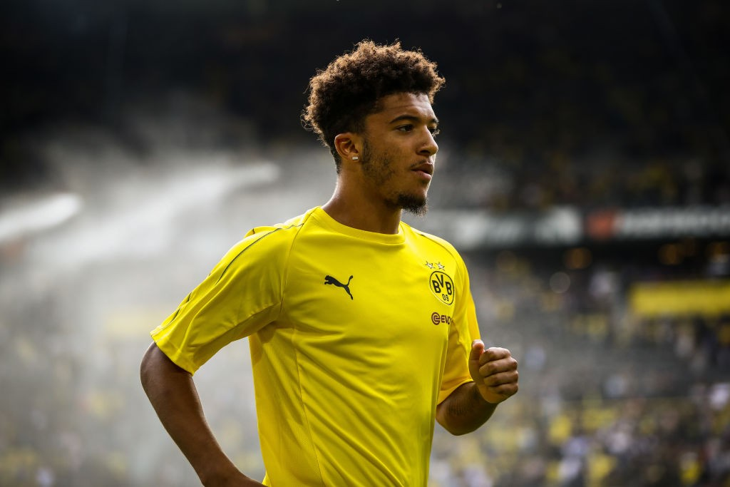 Borussia Dortmund v Eintracht Frankfurt - Jadon Sancho had a devastating impact on die Adler's defence (Photo by Maja Hitij/Bongarts/Getty Images)