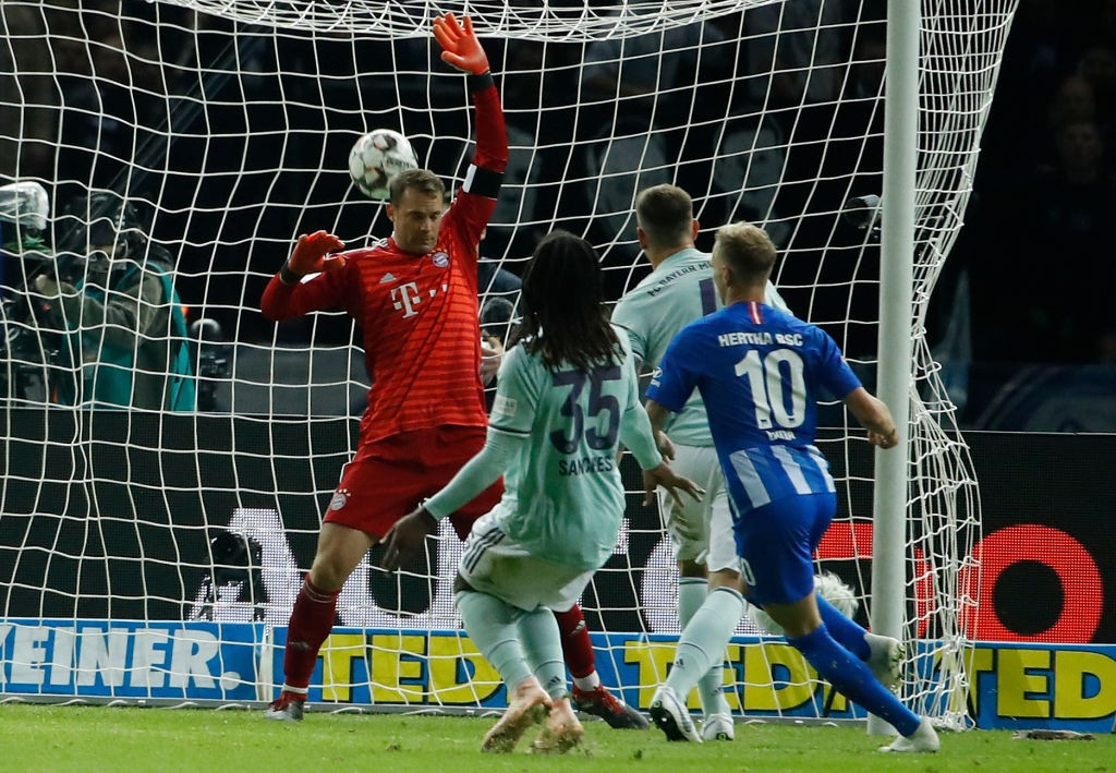 Hertha Berlin vsBayern München - Ondrej Duda