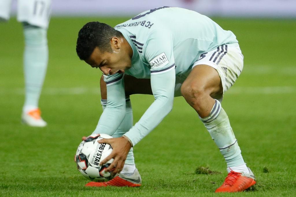 Thiago Alcantara - Hertha Berlin vsBayern München.