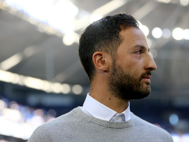 FC Schalke 04 vs Hertha BSC - Has Tedesco lost his magic? (Photo by Christof Koepsel/Bongarts/Getty Images)