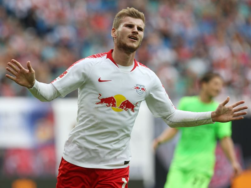 Gladbach v Leipzig Timo Werner will be a key player for Leipzig (Photo by Matthias Kern/Bongarts/Getty Images)