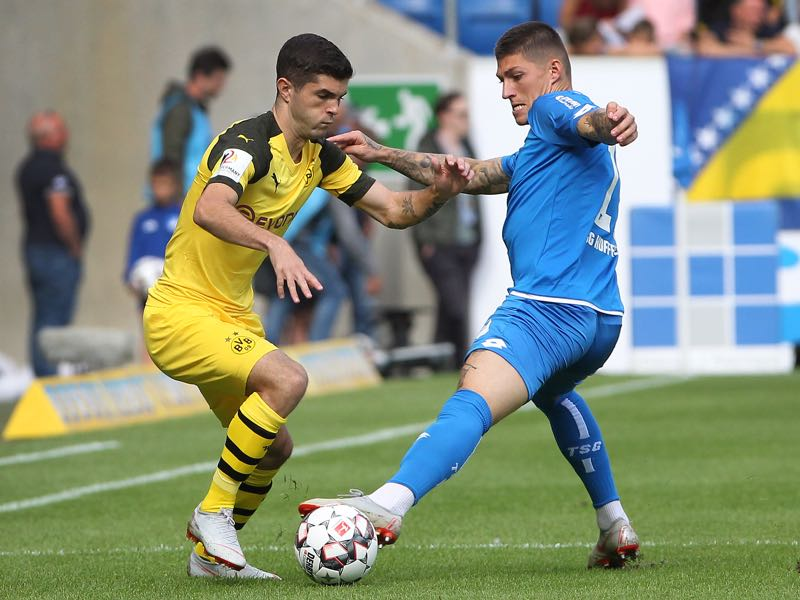 Hoffenheim v Borussia Dortmund - Christian Pulisic was excellent for Dortmund (DANIEL ROLAND/AFP/Getty Images)