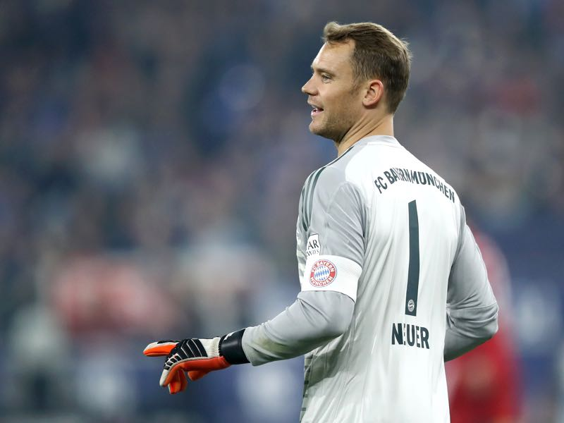 Schalke v Bayern München - It was an easy afternoon for Manuel Neuer in Bayern's goal (Photo by Maja Hitij/Bongarts/Getty Images)