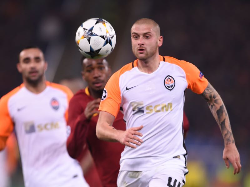 Yaroslav Rakitskiy is one of the most underrated and complete defenders in the European game. He will be key for Shakhtar in this Group F (FILIPPO MONTEFORTE/AFP/Getty Images)