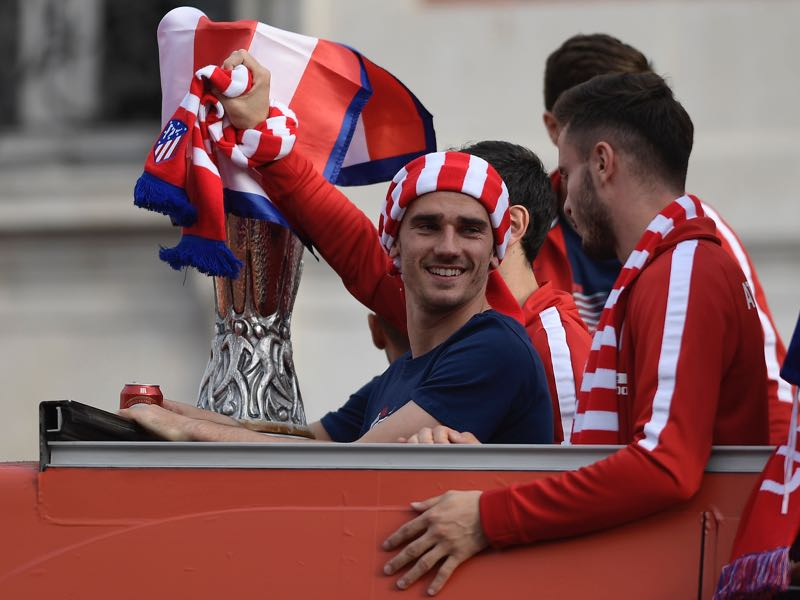 Atlético Madrid won the Europa League last May and have been very efficient about their resources (OSCAR DEL POZO/AFP/Getty Images)