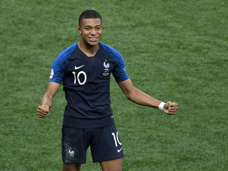 Germany vs France - Kylian Mbappé was the rookie of the tournament in Russia (GABRIEL BOUYS/AFP/Getty Images)