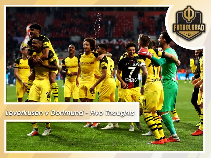 Leverkusen v Dortmund – Five Thoughts