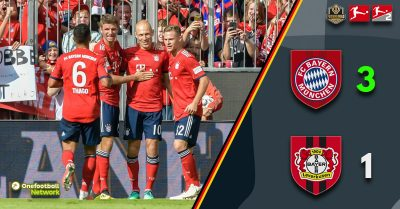 Bayern continue dominance with an easy victory over Leverkusen