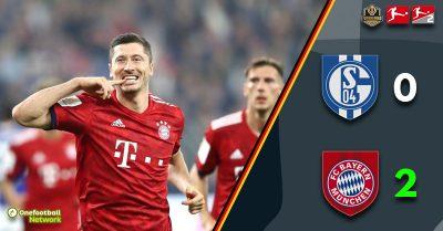 After beating Schalke, Bayern set the stage for midweek Oktoberfest celebrations