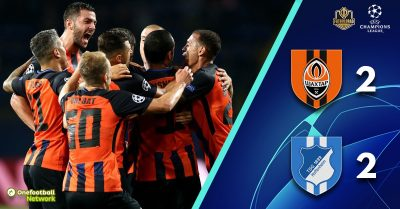 Shakhtar v Hoffenheim – Champions League – Match Report