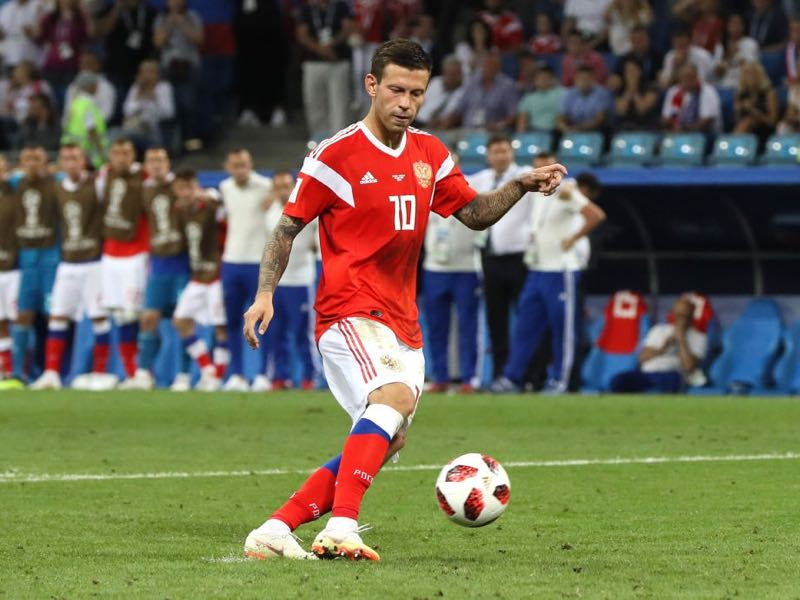 Russian national team player Fedor Smolov joined Lokomotiv to fulfill his dream of playing Champions League football (Photo by Kevin C. Cox/Getty Images)