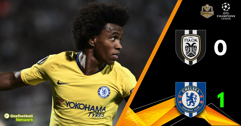 PAOK v Chelsea – Europa League – Match Report
