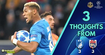 European Mental Strength Arrives in Sinsheim – Three Thoughts from Hoffenheim vs Lyon
