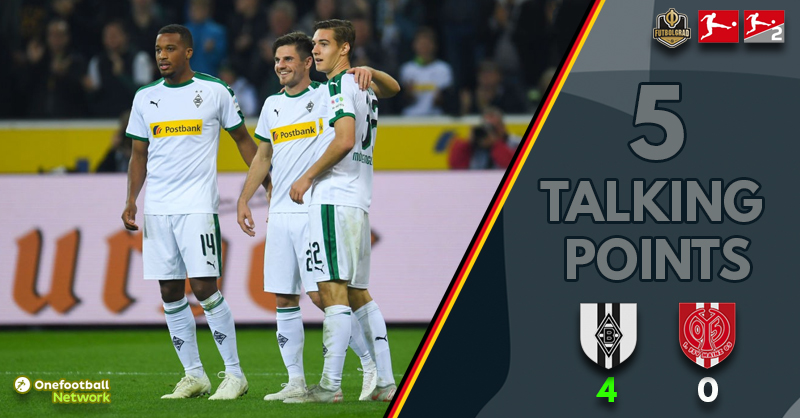Gladbach flying, and Mainz are crashing – Five talking points from the Borussia Park