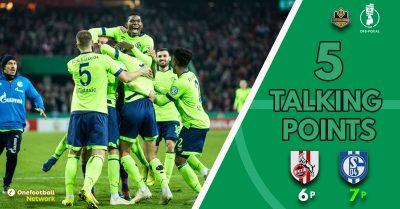 Schalke win but need penalties to eliminate Köln – Five talking points from an intense DFB Pokal battle