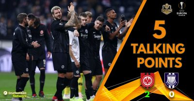 Eintracht make big step towards round of 32 after dispatching Apollon – Five talking points from Frankfurt v Apollon