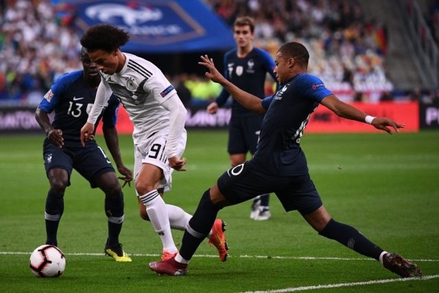 Leroy Sane injected some much needed pace and provided a threat throughout the France vs Germany match in Paris..