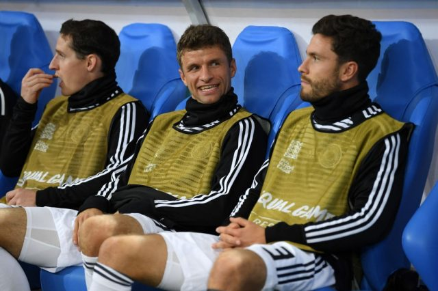 Is it almost time-up for some of Germany's elder statesman? Thomas Müller and Jonas Hector only made the bench for France vs Germany.
