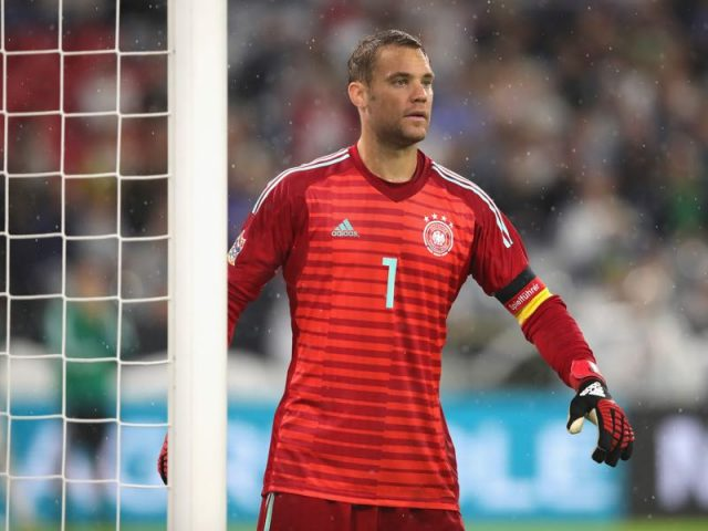 Manuel Neuer faced some criticism after the Netherlands game (Photo by Alexander Hassenstein/Bongarts/Getty Images)
