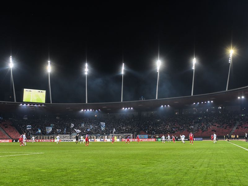 FC Zürich vs Bayer Leverkusen will take place at the Letzigrund in Zürich (Photo by Valeriano Di Domenico/Getty Images)