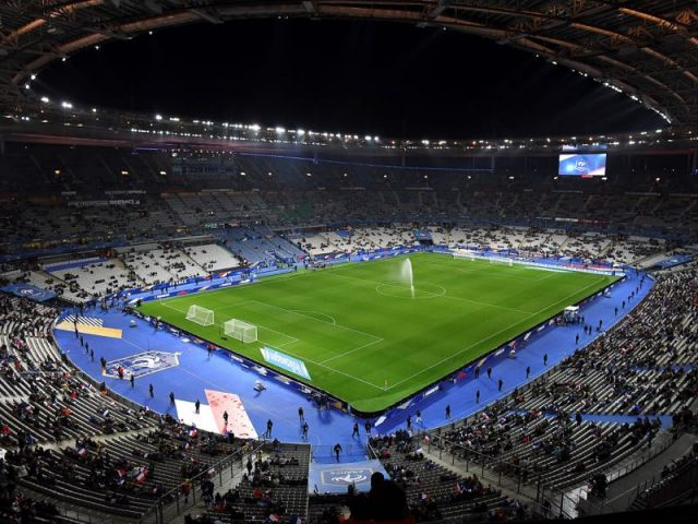 France vs Germany will take place at the Stade de France in Saint-Denis, Paris (FRANCK FIFE/AFP/Getty Images)