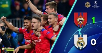 CSKA Moscow v Real Madrid – Champions League – Match Report