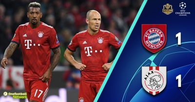 Bayern's problems continue as they drop two points against Ajax