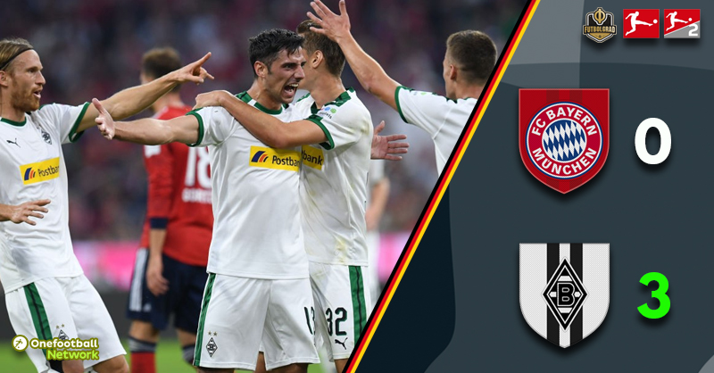 Bayern in full crisis mode after being defeated by Borussia Mönchengladbach