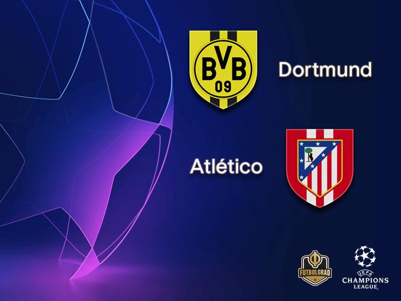 Borussia Dortmund want to pass the test against Spanish powerhouse Atlético Madrid