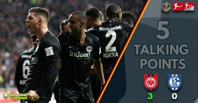 Eintracht keep soaring, Schalke rooted to the spot – Thoughts from Eintracht vs Schalke