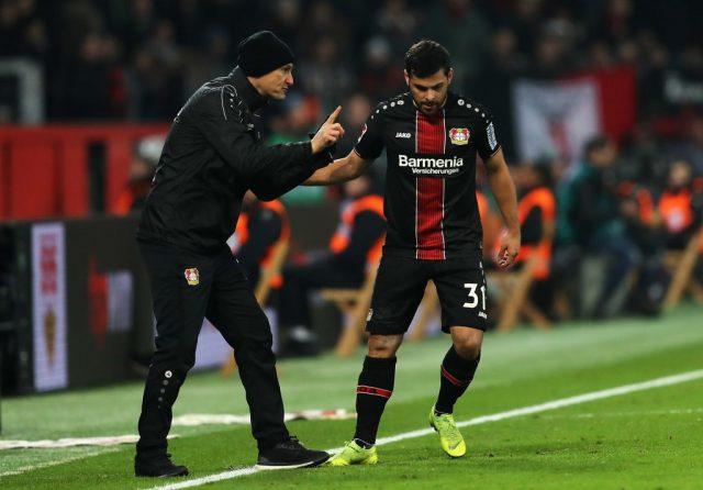 Leverkusen vs Stuttgart - Kevin Volland