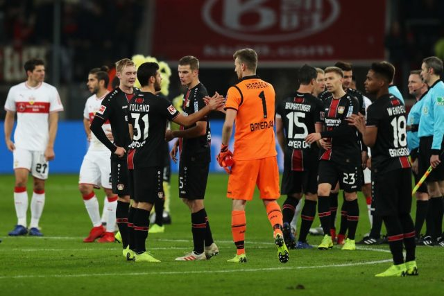 Leverkusen vs Stuttgart - Leverkusen win but it's not convincing